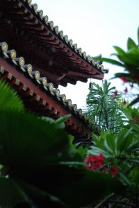 Singapore Buddha Tooth Relic Temple Roof Garden